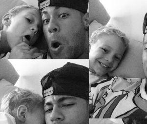 NeymarJr. é pai do pequeno Davi Luccas!
