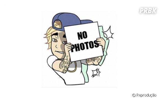 Emoji do Justin Bieber