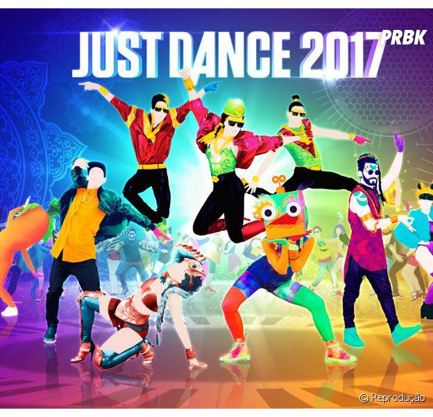 """""""Just Dance 2017"""" terá músicas de Justin Bieber, Ariana Grande, Beyoncé e muito mais!"""