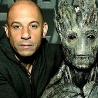"""De """"Guardiões da Galáxia 2"""": Vin Diesel usará uma voz diferente para o bebê Groot!"""