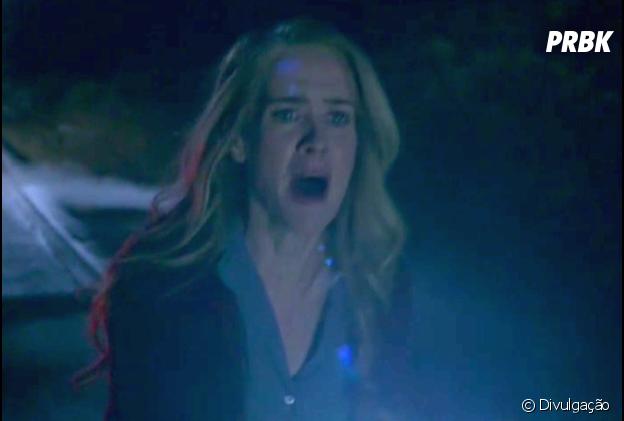 """Em """"American Horror Story"""": na 6ª temporada, Shelby (Sarah Paulson) persegue criaturas sinistras"""