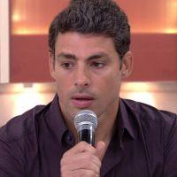 """Cauã Reymond chora e faz homenagem a Domingos Montagner no """"Encontro com Fátima Bernardes"""""""