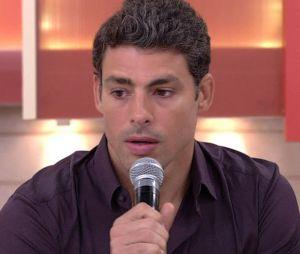 """Cauã Reymond se emociona ao falar sobre morte de Domingos Montagner no """"Encontro com Fátima Bernardes"""""""