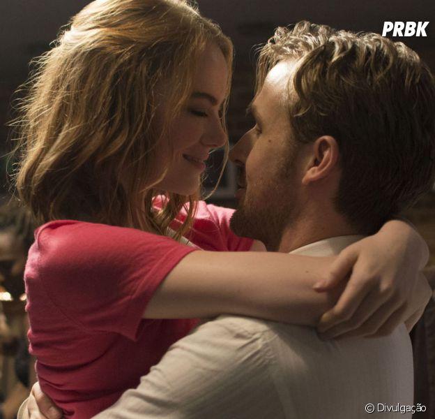 """Emma Stone e Ryan Gosling estrelam o musical """"La La Land - Cantando Estações"""""""