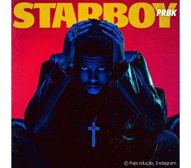 "The Weeknd deletou todas as fotos do seu Instagram e deixou somenta a capa de ""Starboy"" na rede social"