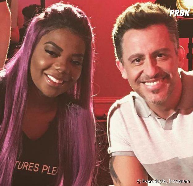 "Ludmilla é uma das convidadas do programa ""The X Factor Brasil"""