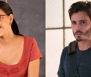 """Celina (Mariana Rios) conquistou o coração de William (Thiago Rodrigues) em """"Além do Horizonte"""""""