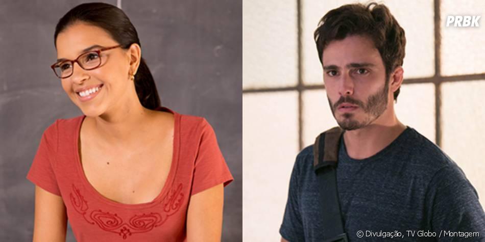 """Celina (Mariana Rios) conquistou o coração de William ( Thiago Rodrigues) em """"Além do Horizonte"""""""