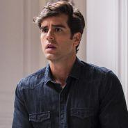 """Novela """"Haja Coração"""": Felipe (Marcos Pitombo) convida Shirlei para viagem a dois!"""