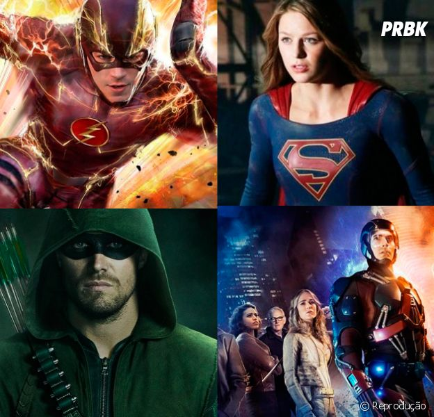 """Crossover entre """"The Flash"""", """"Arrow"""", """"Supergirl"""" e """"Legends of Tomorrow"""" ganha trailer!"""