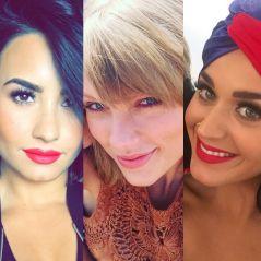 """Demi Lovato critica Taylor Swift e defende Katy Perry em entrevista: """"Não é empoderamento"""""""
