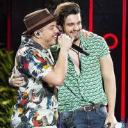 """Wesley Safadão e Luan Santana juntos? Astros cantam e enlouquecem fãs no clipe de """"Sou Mais Forte"""""""