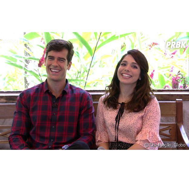 """De """"Haja Coração"""", Marcos Pitombo e Sabrina Petraglia falam sobre casal Shirlipe no """"Mais Você""""!"""
