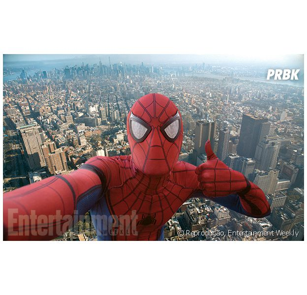 "Revista divulga nova foto de ""Homem-Aranha"""