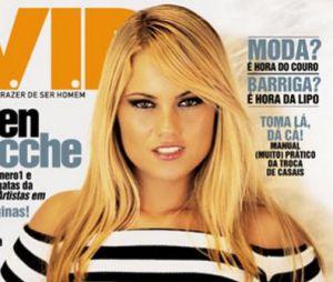 Após três vitórias de Scheila Carvalho, Ellen Rocche se elegeu como mulher mais sexy do mundo pela VIP em 2002