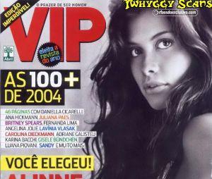 Em 2004, Alinne Moraes foi eleita a mulher mais sexy do mundo pela revista VIP