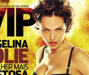 Em 2005, Angelina Jolie se tornou a primeira e única americana a vencer a votação de mulher mais sexy do mundo pela VIP.