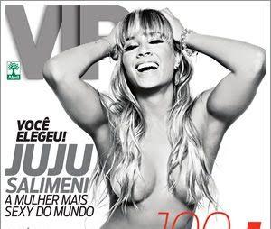Em 2010, Juliana Salimeni foi a mulher mais sexy do mundo pela revista VIP