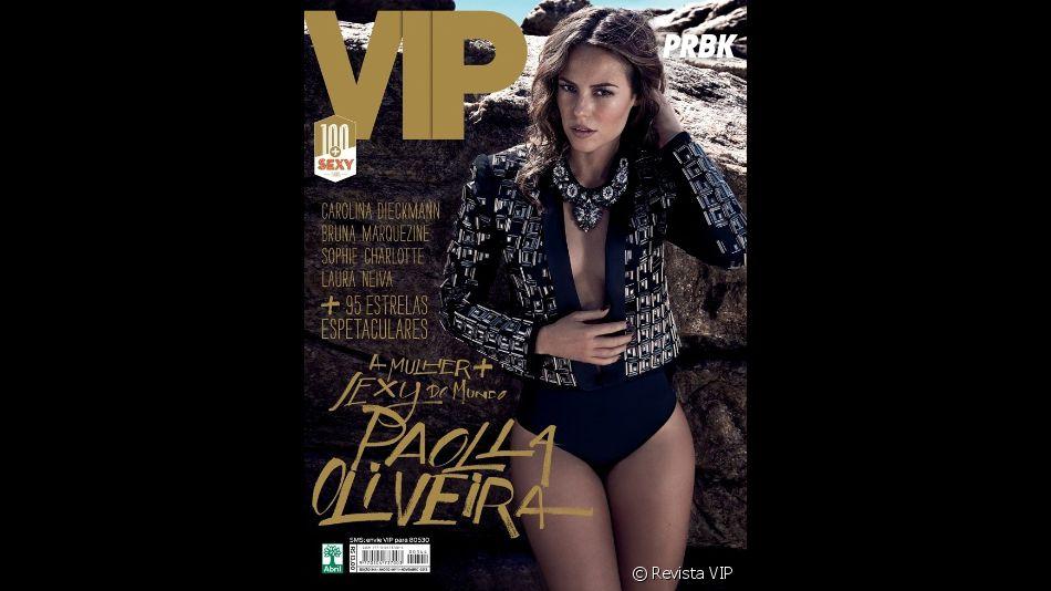 Paolla Oliveira desbancou a concorrência em 2013, tornando-se a mulher mais sexy do mundo pela VIP