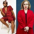 """Bruno Mars e Adele em um só hit? Astro pop fala sobre parceria com a loira e afirma: """"É uma diva"""""""
