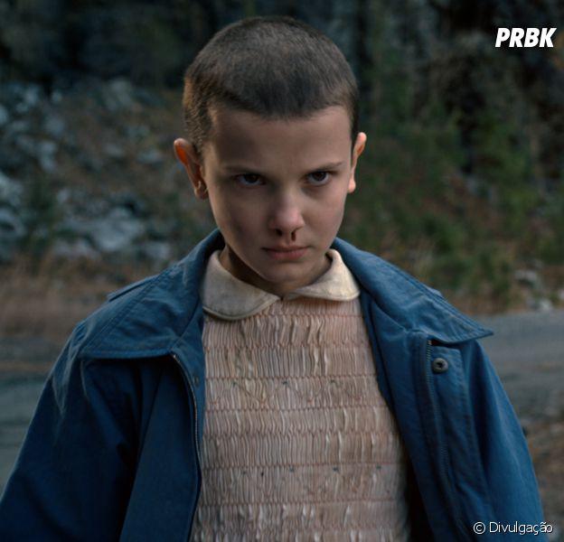 """Site americano diz que """"Stranger Things"""" trará Eleven (Millie Bobby) de volta à históriana segunda temporada,"""