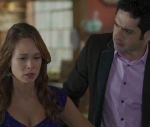"""Em """"Haja Coração"""": Beto (João Baldasserini) decide se separar de Tancinha (Mariana Ximenes)!"""