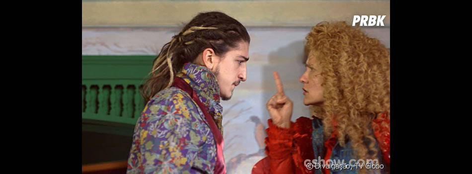 """Em """"Meu Pedacinho de Chão"""", Nando (Johnny Massaro) e Gina (Paula Barbosa) vivem no maior clima!"""