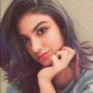 """Giovanna Grigio, de  """"Eu Fico Loko - O Filme"""", fala sobre pintar o cabelo de roxo para o longa!"""