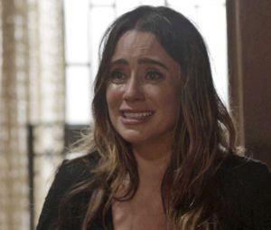 """Novela """"Haja Coração"""": Bruna (Fernanda Vasconcellos) coloca fogo no chalé com Giovanni (Jayme Matarazzo) e Camila (Agatha Moreira)!"""
