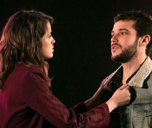 """Em """"Haja Coração"""": Camila (Agatha Moreira) salva Giovanni (Jayme Matarazzo) de explosão!"""