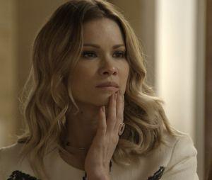 """Final """"Haja Coração"""": a vilãzinha Jéssica (Karen Junqueira) deu um jeito de tirarShirlei (Sabrina Petraglia) do sério, que acabou a agredindo, fazendo exatamente o que a rival esperava"""
