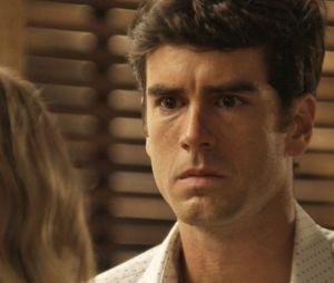 """Final """"Haja Coração"""": Felipe (Marcos Pitombo) ficou arrasado ao descobrir queShirlei (Sabrina Petraglia) havia sido presa, e claro, foi direto procurar Jéssica (Karen Junqueira) para entender tudo!"""