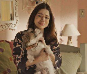 """Final """"Haja Coração"""":Shirlei (Sabrina Petraglia) ficou na maior deprê, como já era de se esperar, né?"""