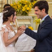 """Final """"Haja Coração"""", Shirlei (Sabrina Petraglia) e Felipe: relembre história de amor do casal!"""