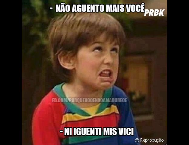 Garotinho viraliza em meme na internet