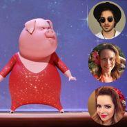 """Fiuk, Mariana Ximenes, Sandy e mais artistas dublam a animação """"Sing"""". Assista ao novo trailer!"""