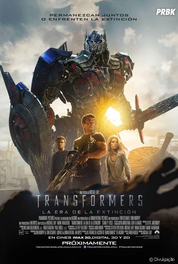 pôster transformers 4