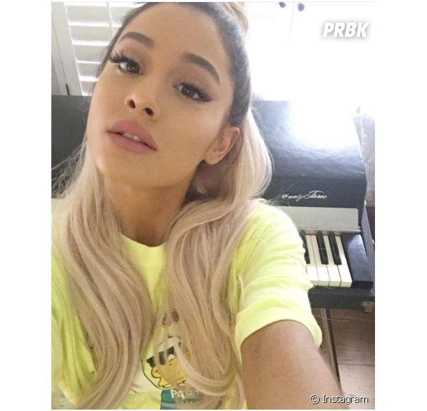 Ariana Grande revela em Snapchat que novo CD já está quase pronto
