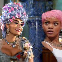 """E se Rihanna entrasse no elenco da fábula """"Meu Pedacinho de Chão""""?! Cabelo rosa!"""