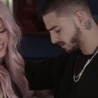 """Shakira sensualiza com Maluma em clipe de """"Chantaje"""", após levar 2 prêmios no Grammy Latino 2016"""