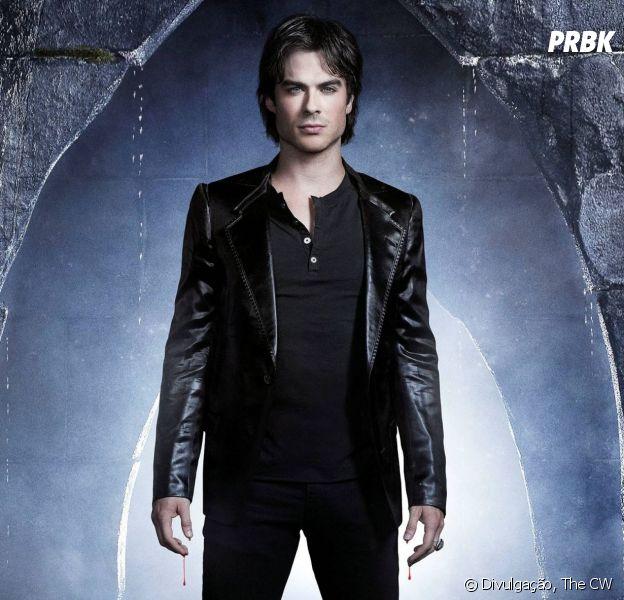 """O que fazer agora que Damon (Ian Somerhalder) morreu em """"The Vampire Diaries""""?"""