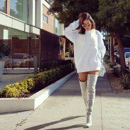 Anitta posta foto com bota fashion no Instagram e recebe elogios de fãs!