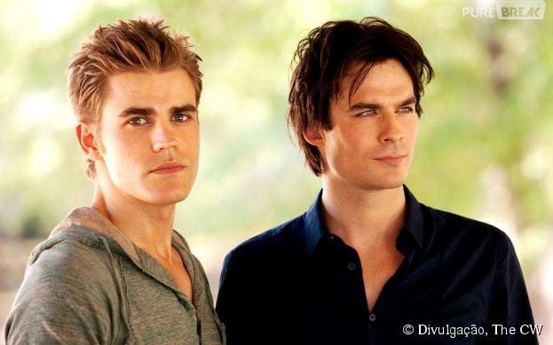 """Na 6ª temporada de """"The Vampire Diaries"""", Stefan (Paul Wesley) se sentirá culpado pela morte de Damon (Ian Somerhalder)"""
