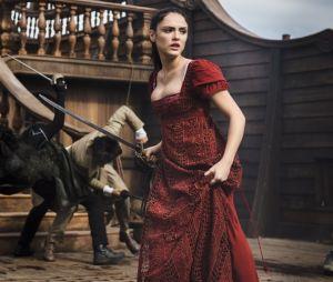 "Isabelle Drummond protagoniza cena de batalha em ""Novo Mundo"""
