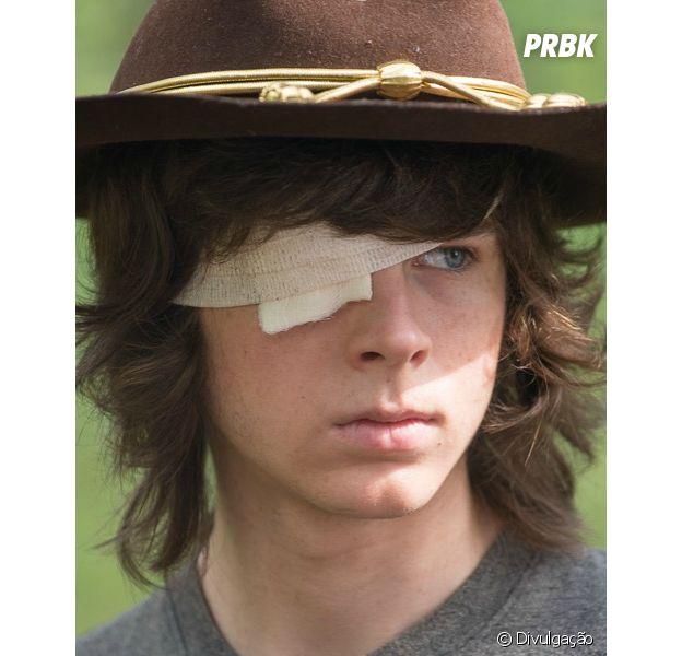 """Em """"The Walking Dead"""": Carl (Chandler Riggs) estava pronto para morrer, segundo ator"""