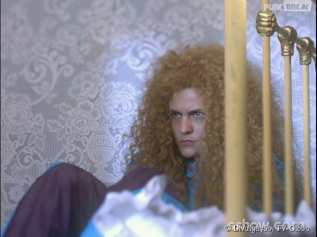 """Em """"Meu Pedacinho de Chão"""", Gina (Paula Barbosa) vai ficar magoada com a descoberta que vai fazer"""