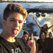 João Guilherme, ex de Larissa Manoela, curte férias em Orlando com amigos e mostra no Instagram!