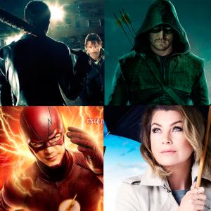 """Com """"The Walking Dead"""", """"Flash"""", """"Arrow"""": veja o calendário de retorno das séries em 2017!"""