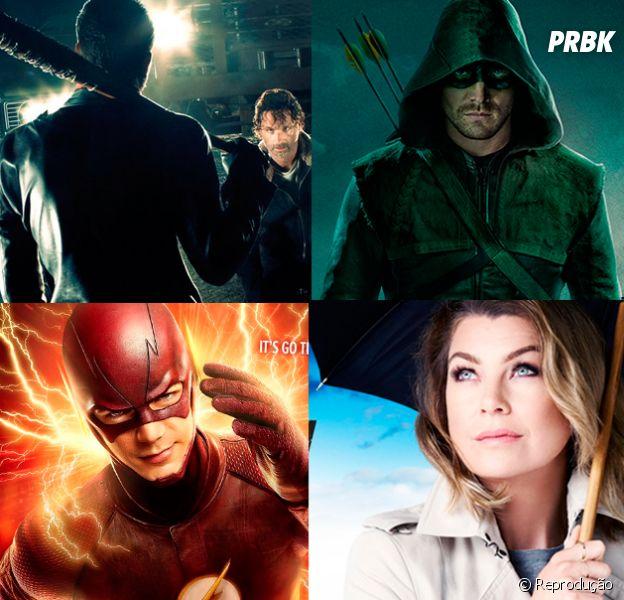 """Calendário 2017.1 de estreias de séries! """"Grey's Anatomy"""", """"Flash"""", """"Arrow"""", """"The Walking Dead"""" e mais"""