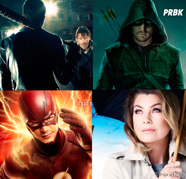 "Calendário 2017.1 de estreias de séries! ""Grey's Anatomy"", ""Flash"", ""Arrow"", ""The Walking Dead"" e mais"